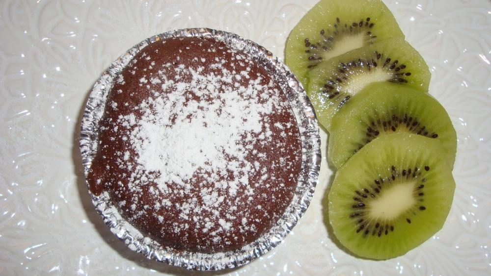 Chokladiga kladdmuffins (1/2)